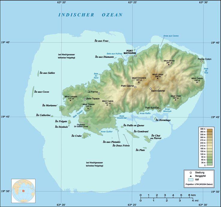 Best Mauritius Maps Images On Pinterest Mauritius - Mauritius maps