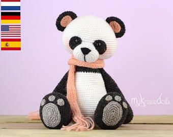 Häkelmuster - Mein Kleiner Pandabär