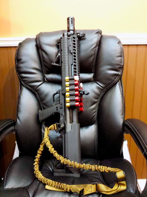 You're not bulletproof..., Kel-Tec KSG A slightly more custom KSG, this one...
