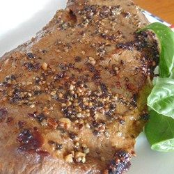 5-Ingredient Flat Iron Steak Marinade Allrecipes.com  #MyAllrecipes #AllrecipesAllstars #AllrecipesFaceless