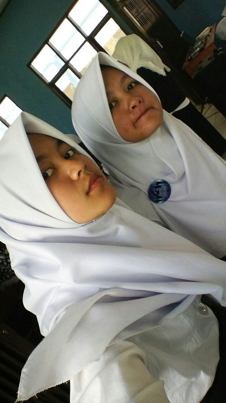 Reka Meisa cewek paling cantik di ekskul student transformers indonesia.