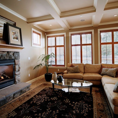 White trim around honey oak windows decoration ideas for Combining stained and painted trim
