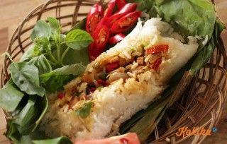 Nasi bakar ikan Jambal khas Sunda adalah salah satu jenis makananan yang bisa menjadi variasi lain dari menghidangkan hanya sekedar nasi goreng, na