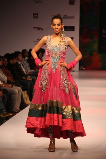 Parul Grover Bangalore Fashion Week