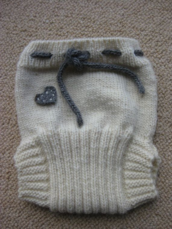 Wool Soaker / Diaper / Cover Knitting Pattern Instant by woolstack, $3.00