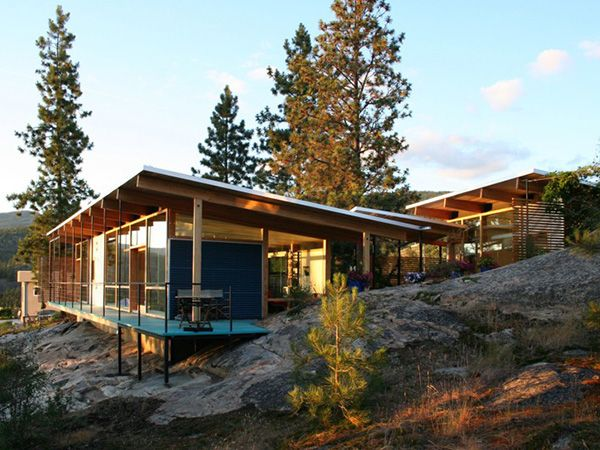 Apart From Designing A Cool Modern Cabin, Allen+Maurer Architects Embarked  On This Modern Residential Endeavor With A Mind To Preserving The  Surrounding ... Part 48