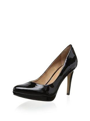 55% OFF Corso Como Women's Halle Platform Pointed Toe Pump (Black Patent)