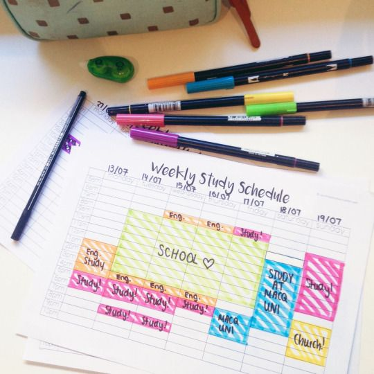 courtneystudies: The most productive way to procrastinate is to organise