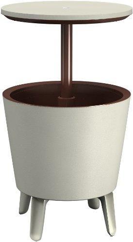 Oferta: 53.52€ Dto: -11%. Comprar Ofertas de Keter Cool Bar crema y chocolate - Mesa nevera para exterior, 45 latas, de 50 x 41 x 50 cm barato. ¡Mira las ofertas!