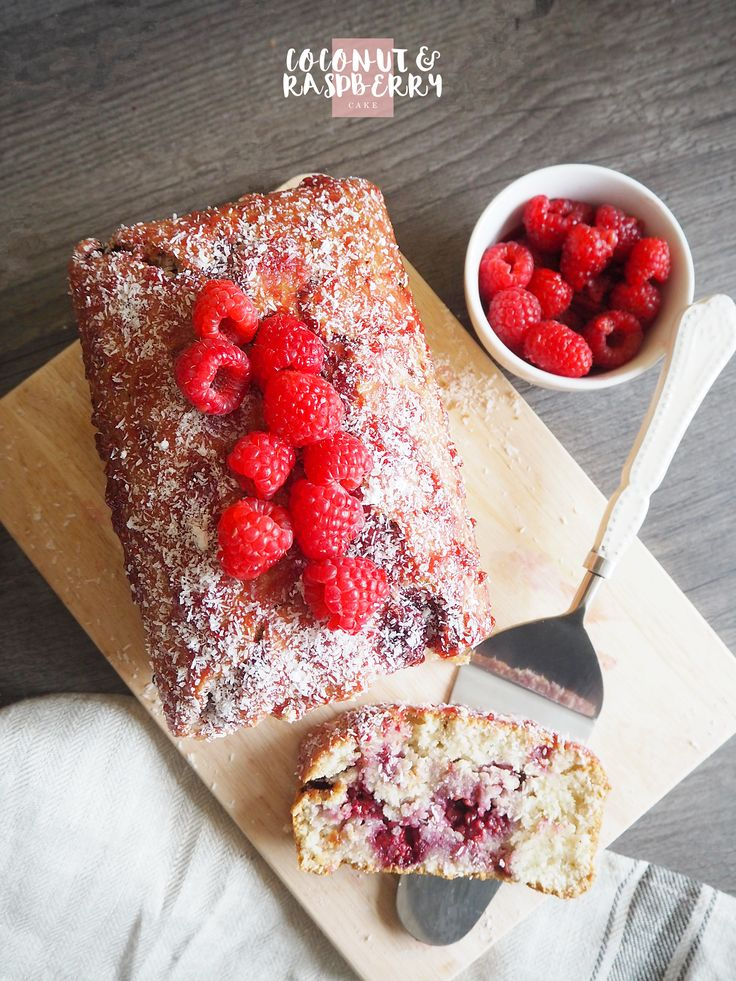Let's bake: Coconut and Raspberry Cake   CharissaRae - a North East Fashion, Beauty, Travel and Lifestyle Blog