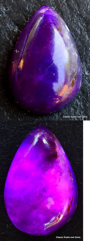 Sugilite 69181: Sugilite Gel Cabochon Untreated Natural Gemstone Aaa Sugilith Edelstein 3.05 Ct BUY IT NOW ONLY: $160.0