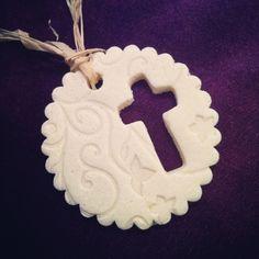 Christmas DIY: Salt dough Christmas Salt dough Christmas ornaments I made- Nailed it!!! #christmasdiy #christmas #diy