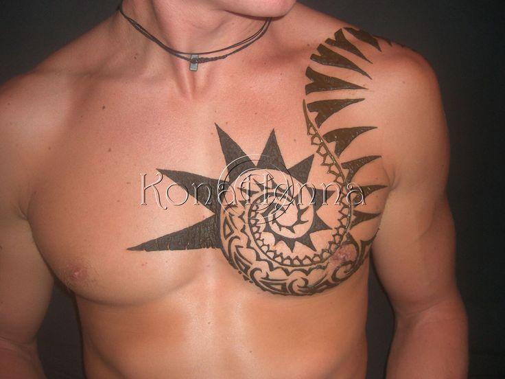 Mehndi Tattoo Designs For Boys : Henna tattoo designs on chest makedes.com