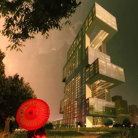 Project R6 | Architect: REX: Projects R6, Inspiration Architecture, Rex, Living Spaces, Yongsan International, Business District, International Business, Architecture Firm, South Korea