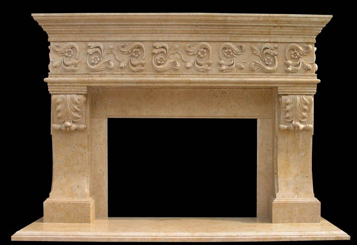 Stone Fireplace Surrounds Hand Carved Stone Fireplace Surround S New House Fireplaces