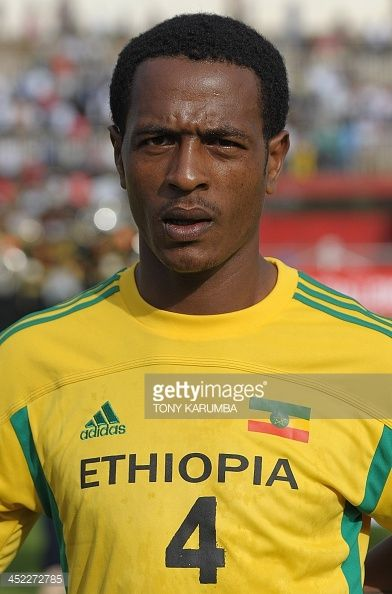 Ethiopia's Mulualem Mesfin poses ahead of the Council for East and Central Africa Football Associations (CECAFA) Cup football tournament in Nairobi on November 27, 2013.