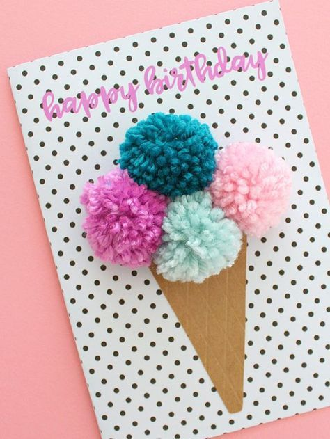 25 Handmade Birthday Card Ideas