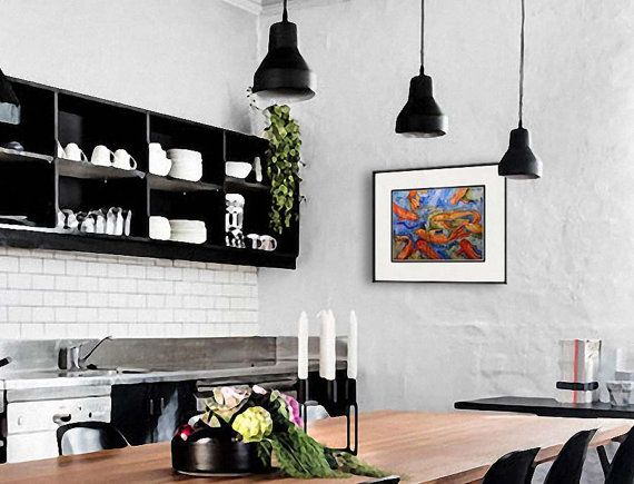 Modern Kitchen Wall Decor 38 best kitchen decor images on pinterest | kitchen, kitchen ideas