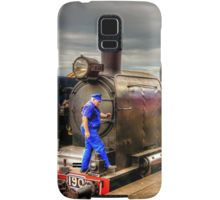 Steam Train K-190 at Maldon Station Samsung Galaxy Case/Skin
