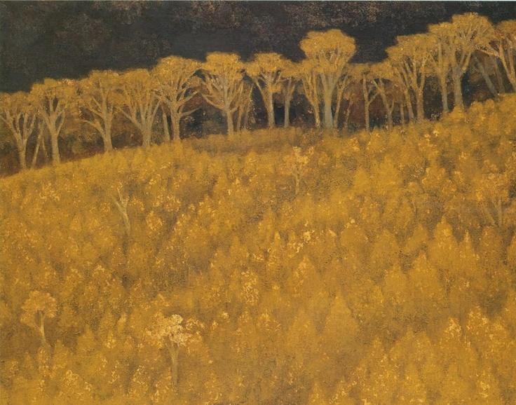 Kaii Higashiyama, Yellow Brightness, 1960