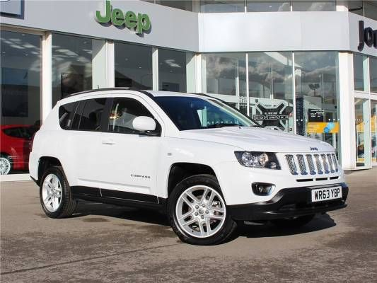 Used 2014 (63 reg) Bright White Jeep Compass 2.2 CRD Limited 5dr for sale on RAC Cars