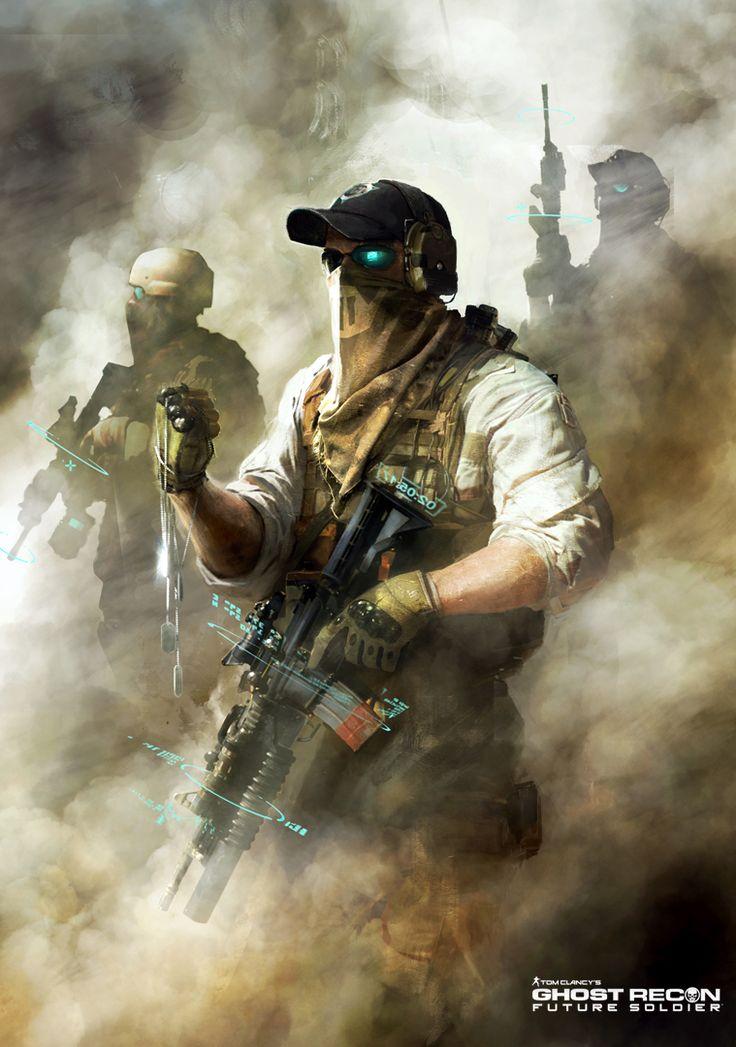 Ghost Recon Future Soldier Official Art #5 by DarkApp on deviantART