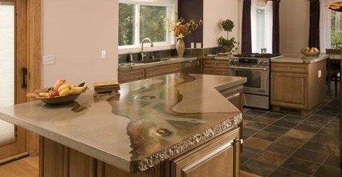 Concrete Countertops Absolute ConcreteWorks Poulsbo, WA
