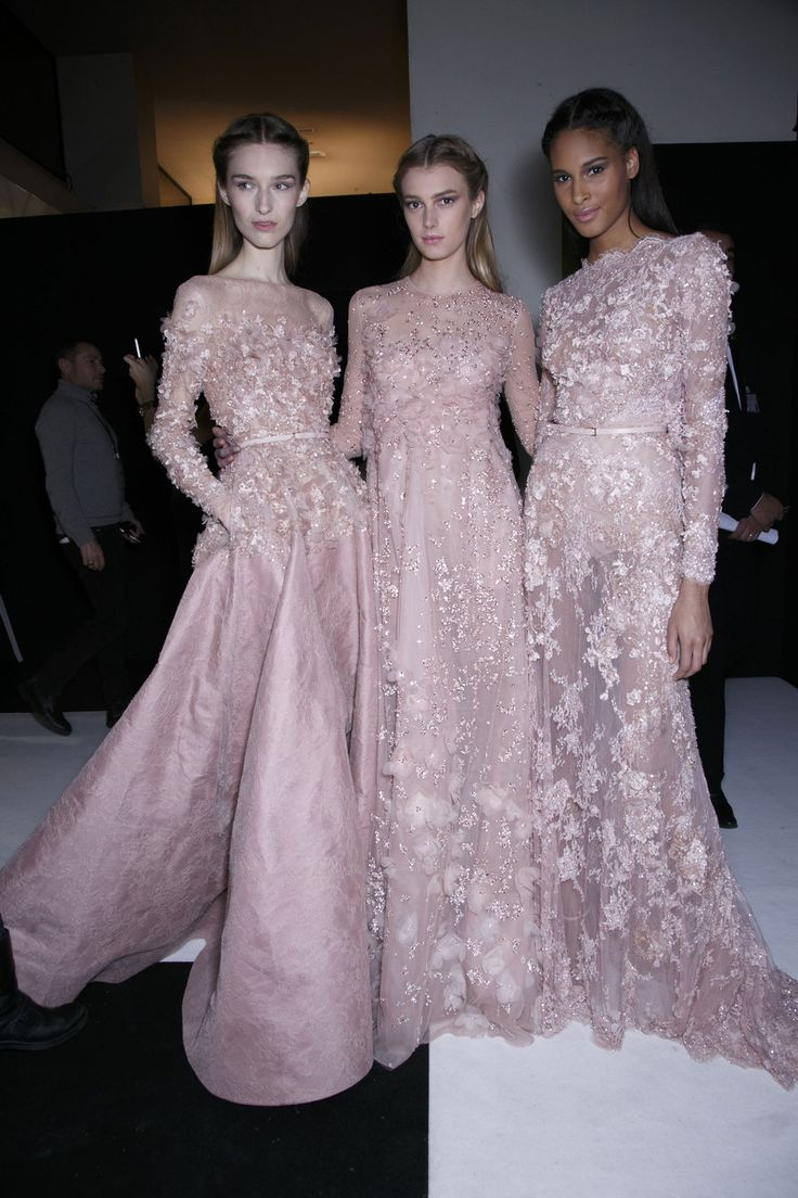 — runway-report:   Backstage at Elie Saab Couture...