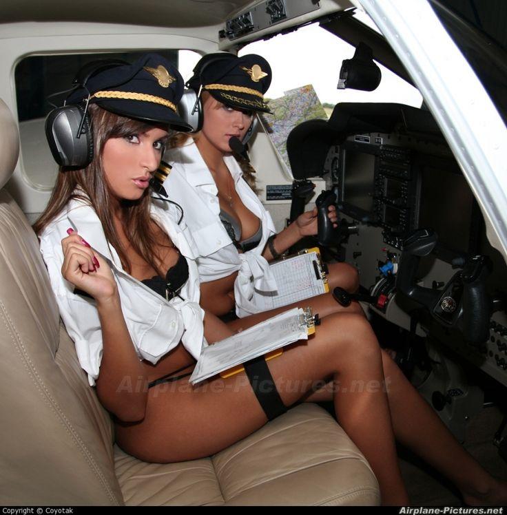 Nude in plane Nude Photos 4