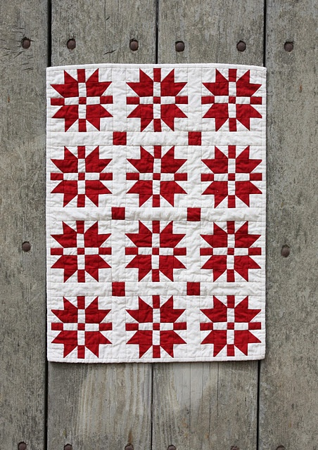 small red and white