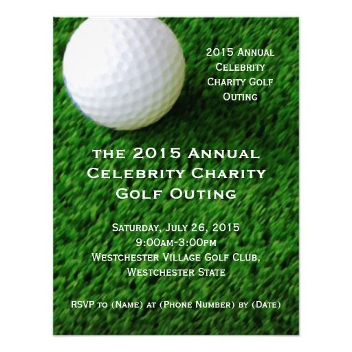 golf tournament budget template - 73 best zazzle party invitation collection images on