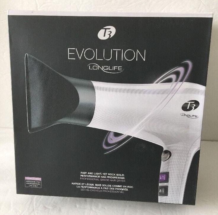 T3 Bespoke Grey Evolution Longlife Professional Hair Dryer Blower 53887 NEW NIB 883349538874 | eBay