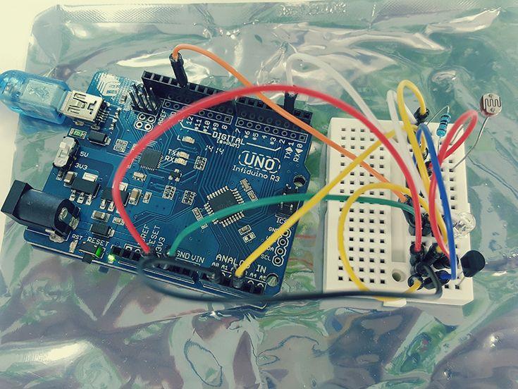 아두이노를 사용한 에어콘 자동 조절기 만들기 (스마트 홈, 스마트 오피스)