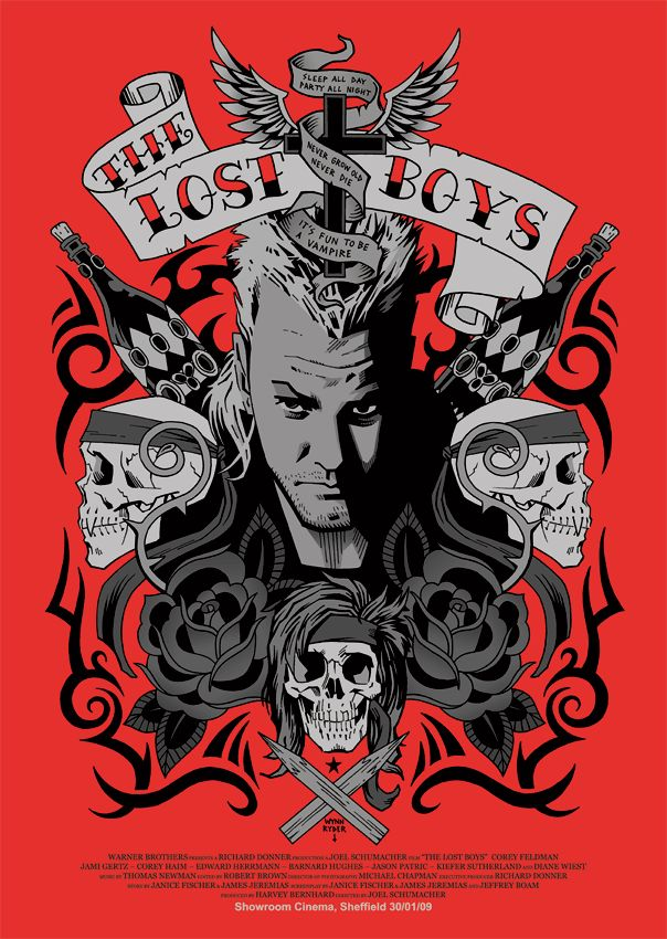 Shit Movie Fest: The Lost Boys (Poster Round Up)
