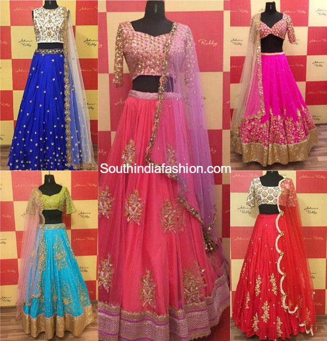 10 Beautiful Designer Bridal Lehengas For This Wedding Season by Ashwini Reddy