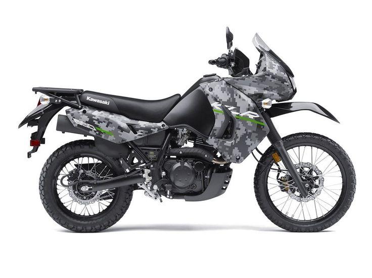 2016 Kawasaki KLR 650 Camo Price And Modification Picture