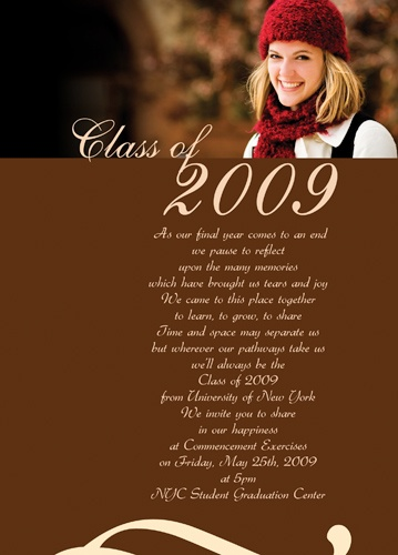 26 best graduation invitations images on Pinterest Graduation - graduation announcement template