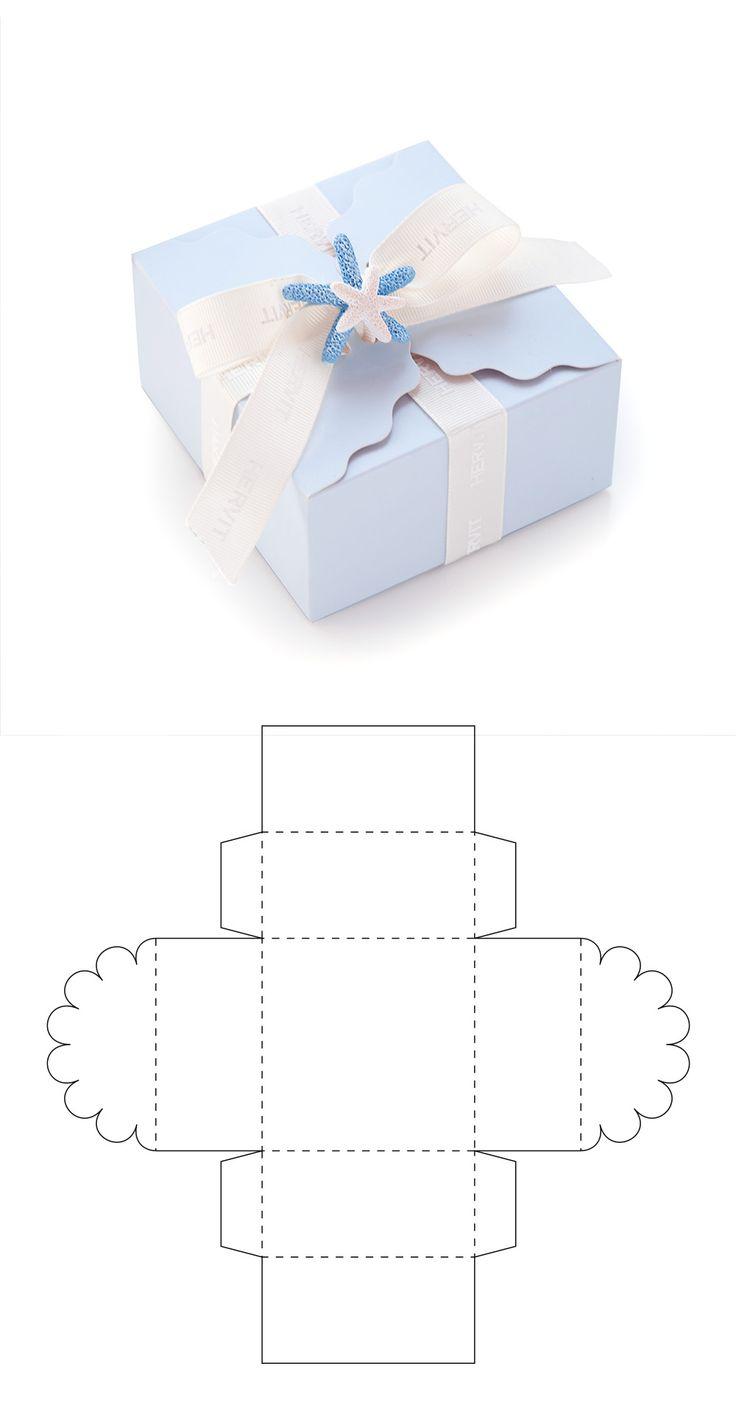 Diy Geschenk Basteln – Cajita para recuerdo de bautizo - Gifts For Teens Packaging Carton, Gift Packaging, Paper Gift Box, Paper Gifts, Diy Paper Box, Gift Boxes, Handmade Paper Boxes, Paper Folding, Paper Art