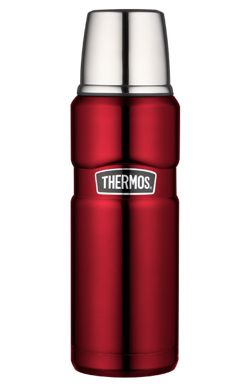 Termos KING 0,47 Cranberry - DECO Salon. Perfect for the office, to school, to lecture on the go! A beautiful and practical gift for her! #thermos