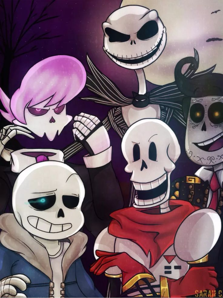 Skelesquad By Jarafia Deviantart Com On Deviantart