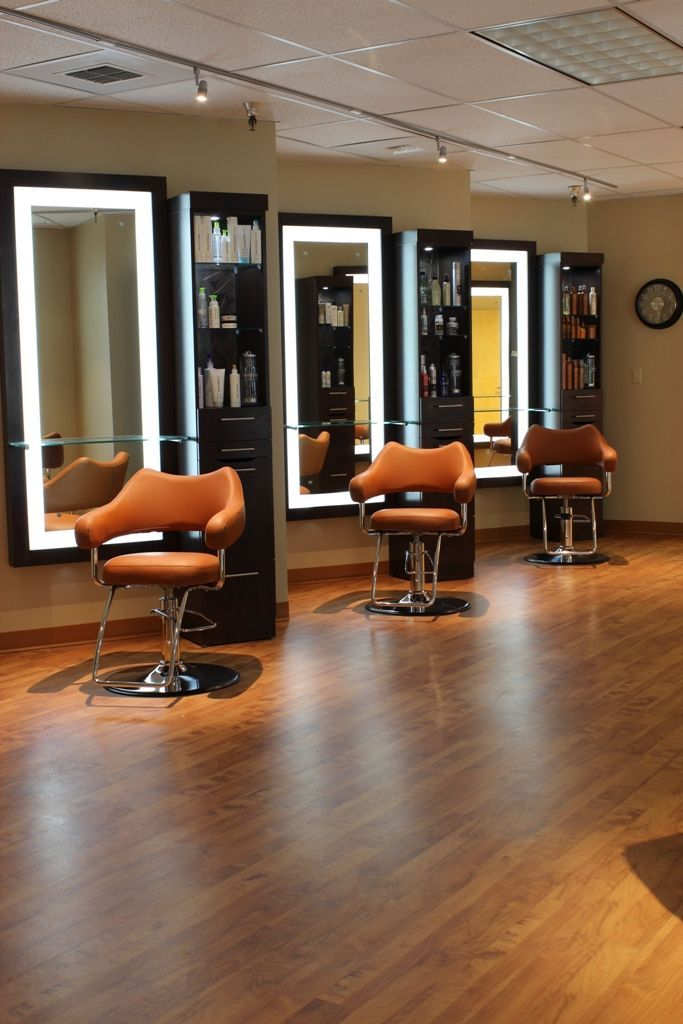 31 best hair salon images on pinterest beauty salons for Beauty salon mirrors with lights
