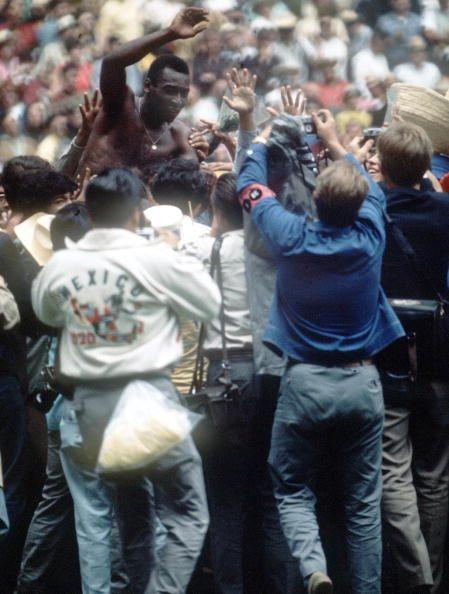 World Cup Final 1970 Mexico City Mexico 21st June Brazil 4 v Italy 1 Brazil's…