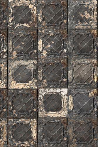 Brooklyn Tin Tiles Wallpaper - 08 - Metallic
