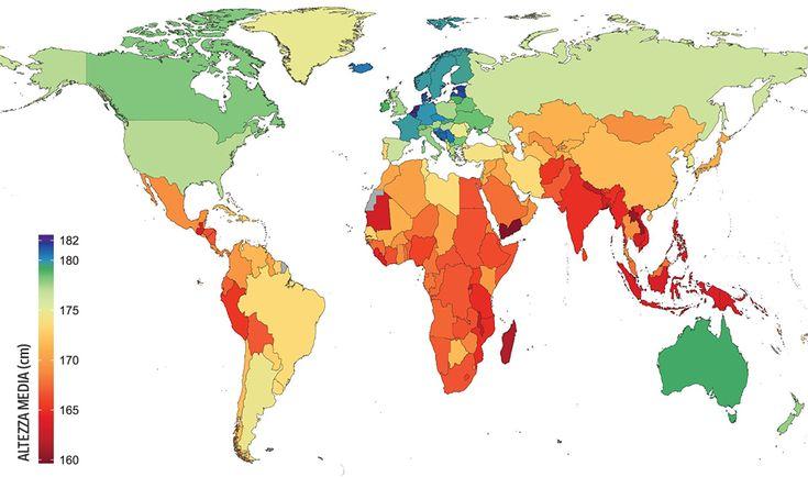 Guarda dove vivono gli uomini piu alti - Corriere.it