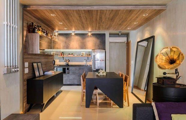 Profissionais criam para si o apartamento perfeito