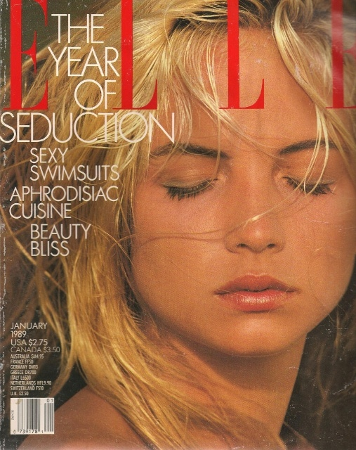 Rachel Williams - Elle US Jan 1989