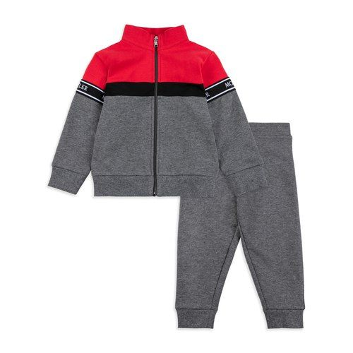 c24b022b09dd Baby Boys Two Piece Tracksuit - Grey by Moncler