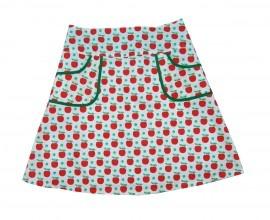 ohhh ook leuk met de stof rode appel van Kokka (te koop bij www.jaan.nu)