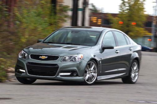 2014 Chevrolet SS- HECK YA!  I have one of these in silver and let me tell u, it is so fun and talk about loaded to gills- it's all standard- heated & ventilated seats, custom stitching, awesome sports seats, big Brembos front & rear.  Honestly I don't think much of anyone would ever guess it costs $49,000 but that is not why I bought it!