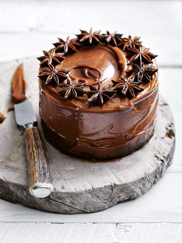 spiced sticky date caramel star anise cake. For more, visit houseandleisure.co.za